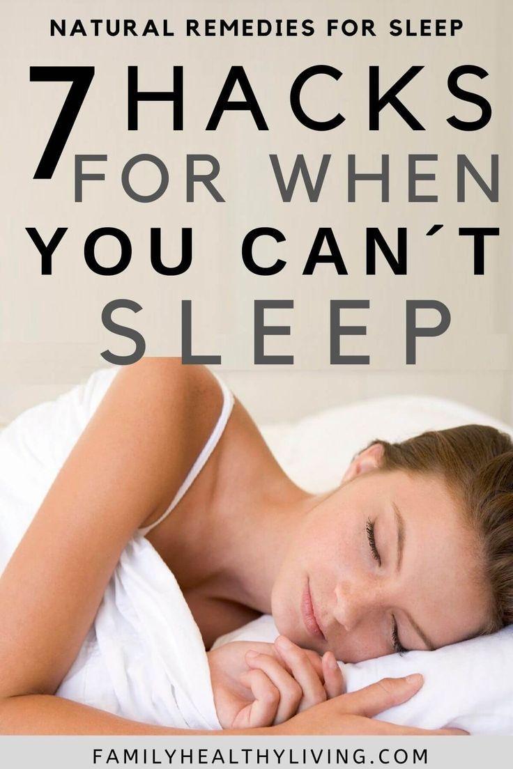 7 Natural Remedies For Sleep | Natural Sleep Remed