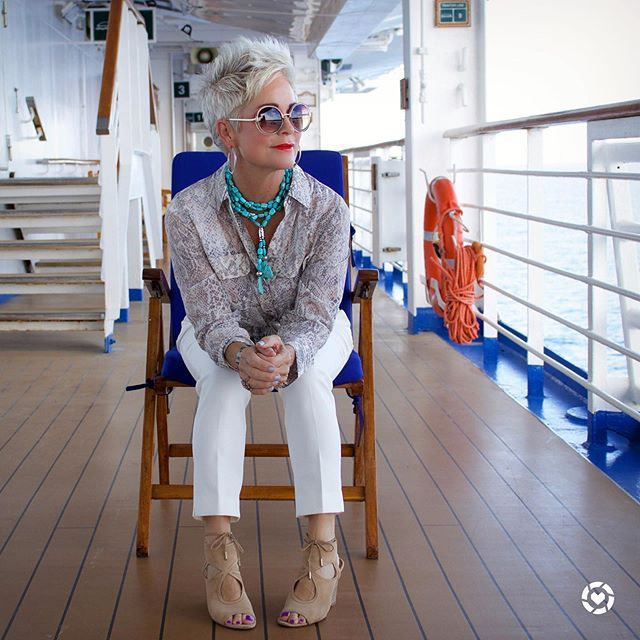 Navy Number Again - Chic Over 50