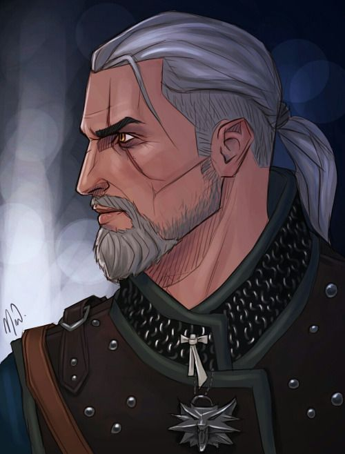 Geralt Von Riva Witcher In 2019 The Witcher Geralt Witcher Art