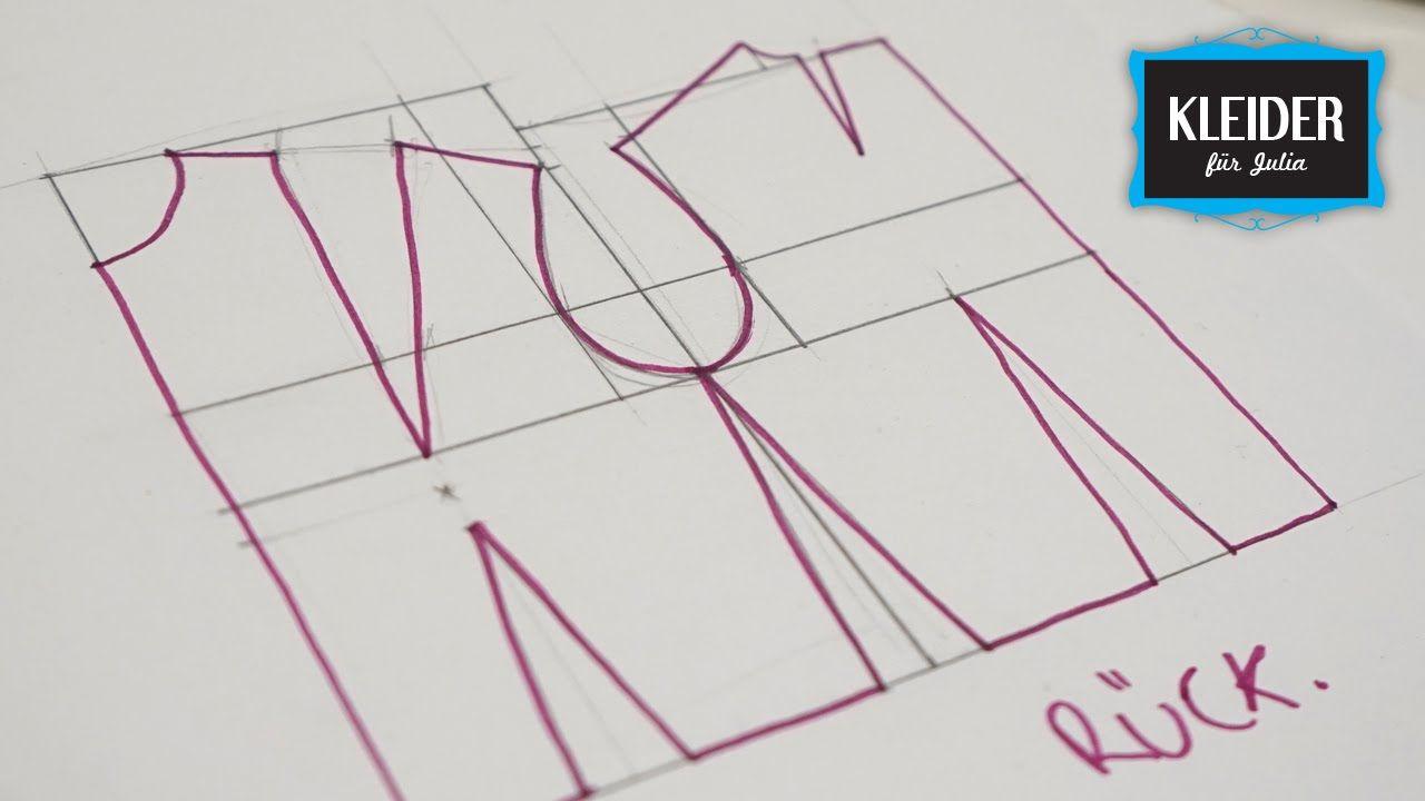 Grundschnitt Oberteil Taillierte Form | Nähwerk | Pinterest ...