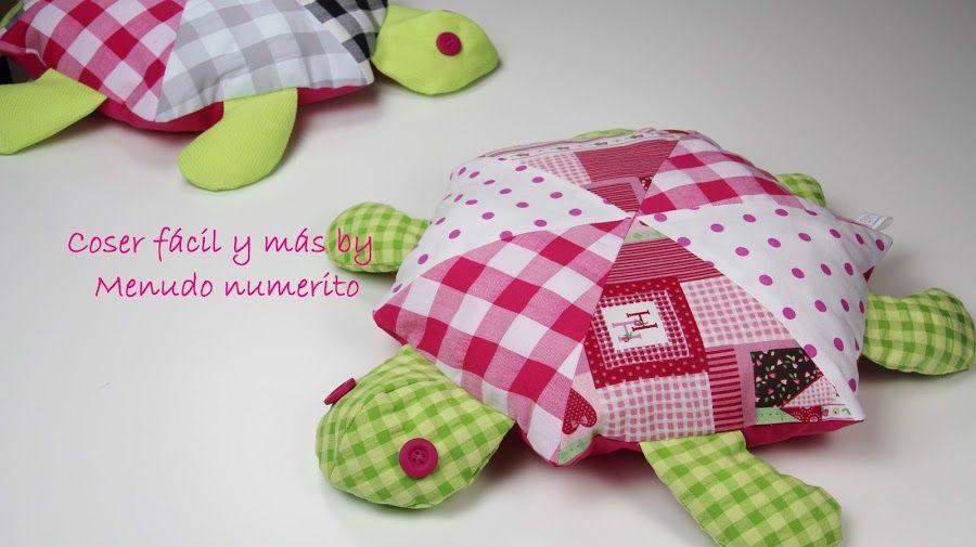 Tutoriales de costura: una tortuga de trapo (patrones incluidos ...