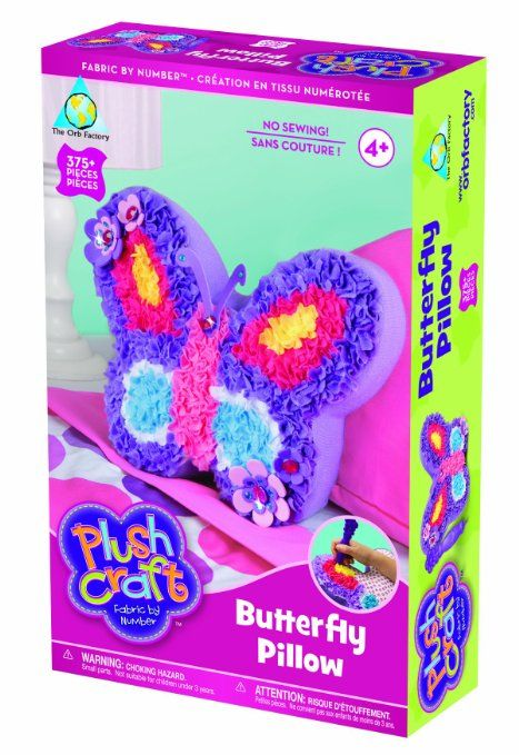 Amazon Com The Orb Factory Limited Plush Craft Butterfly Pillow Toys Games Plush Craft
