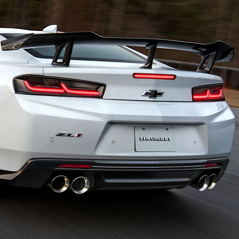 Upgrade To Black Your Camaro Tail Lights With These Blacked Out Led Taillamps These Oem Direct Replacement Taillights Are Eas Black Camaro Camaro Fun To Be One