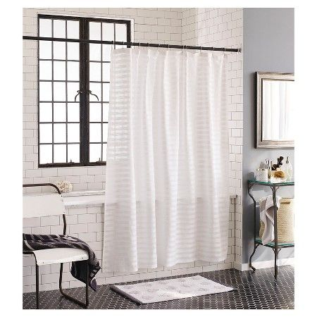 Nate BerkusTM Textured Shower Curtain
