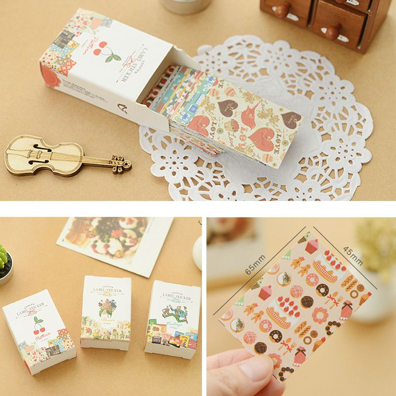 Vintage Sticker Stamp Sticker Set Decorative Stickers Diary Sticker ...