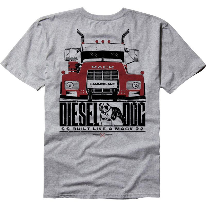 Diesel Dog Hammer Lane T-Shirt | Tractor Trailers / Big Rigs