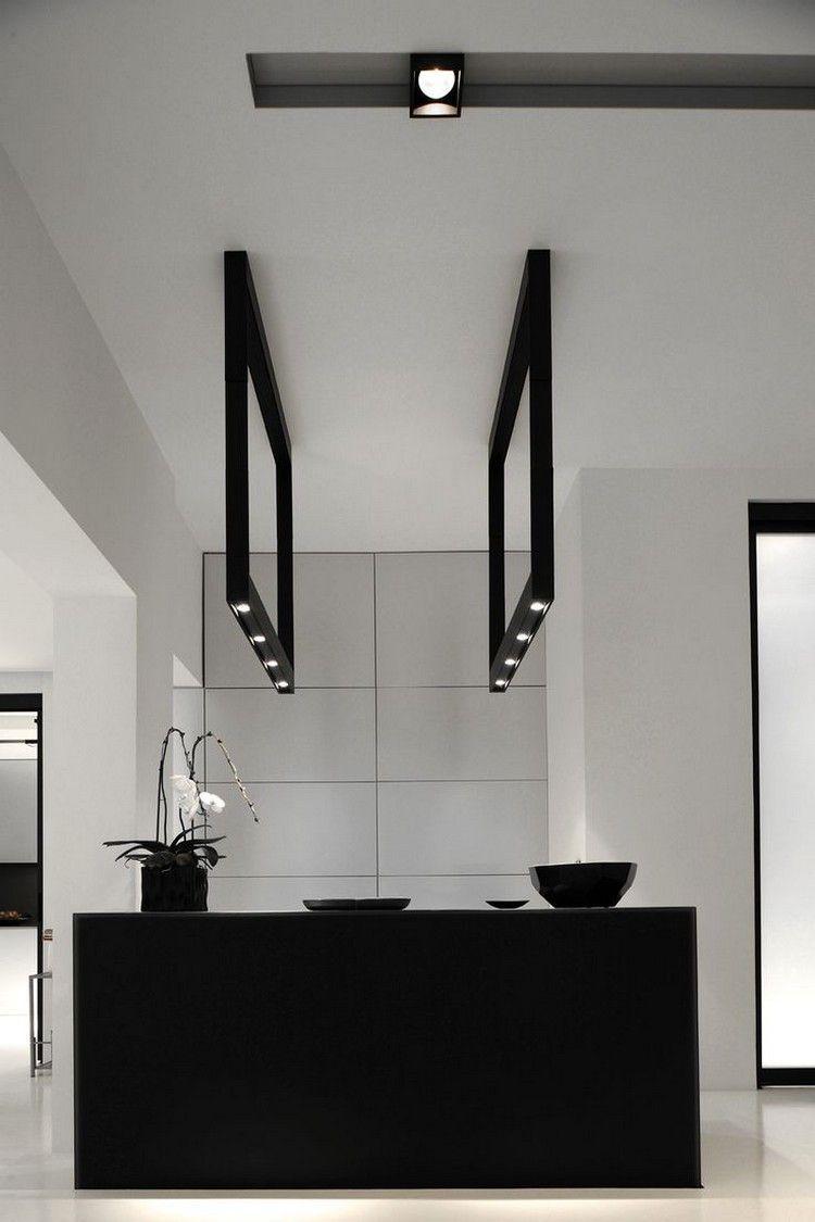 lamparas baño marcos negros modelo | Iluminación | Pinterest ...