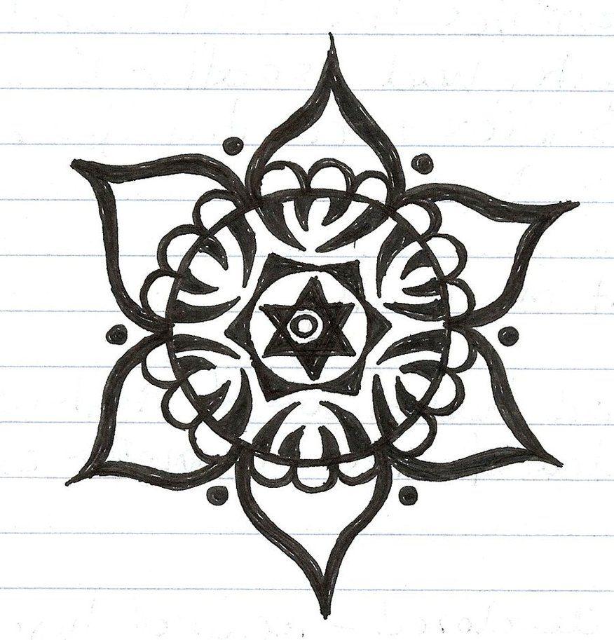 Viewing Gallery For Simple Mandala Tattoo Designs Simple Mandala Tattoo Mandala Tattoo Design Simple Mandala
