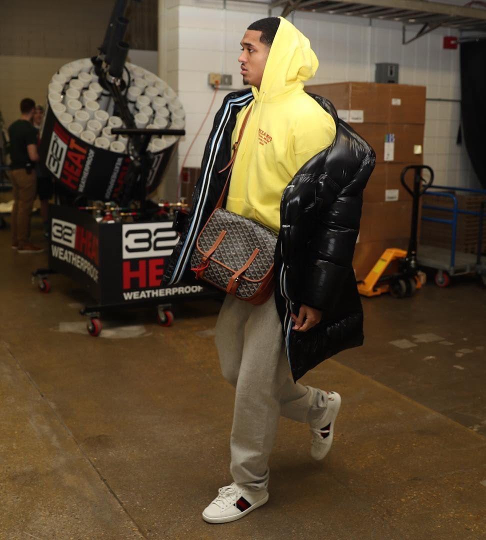 dfa0792f5438 ASAP Rocky Wears a Gucci Coat, Hoodie, Reebok Sneakers, and Carrying a  Fendi Bag | UpscaleHype