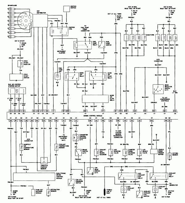 12  1988 camaro engine wiring diagram - engine diagram