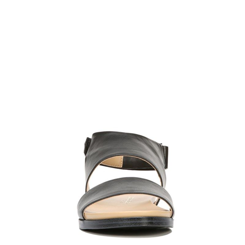 1a6630704791 Naturalizer Women s Kimono Medium Wide Sandals (Black Smooth) - 7.0 W