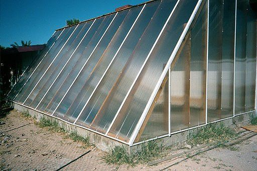 Multi Wall Polycarbonate Greenhouse