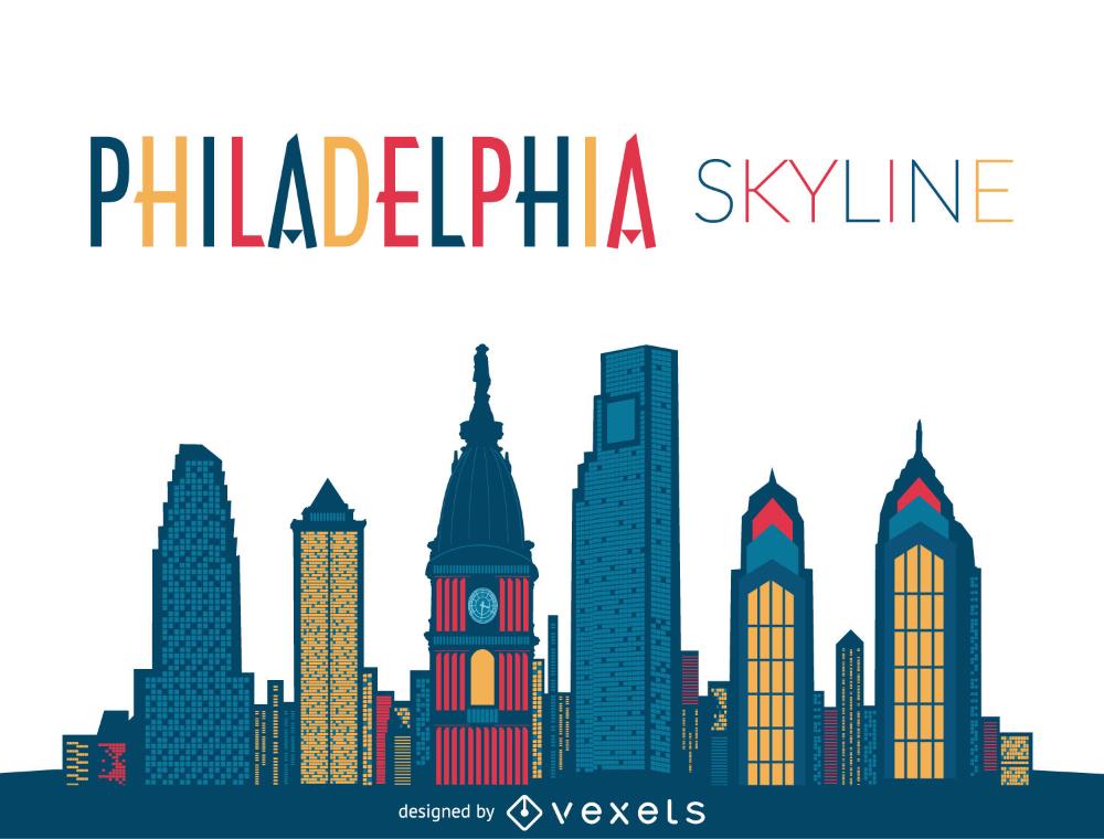 Philadelphia Skyline Silhouette Png Clip Art Library Philadelphia Skyline Philadelphia Skyline Art Skyline Silhouette