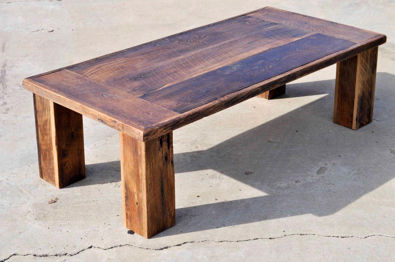 Barnwood Coffee Table Pics Reclaimed Oak Barn Wood The Herc By Dohlerdesigns