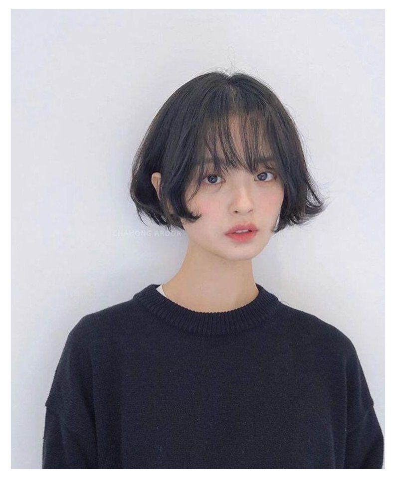ulzzang girl short hair tomboy