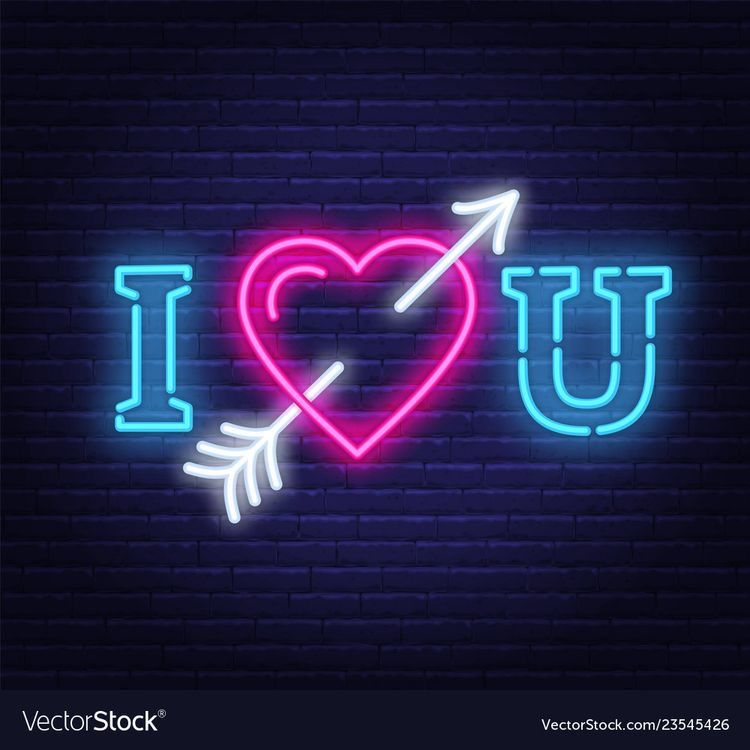 Pin by 𝒟𝒶𝓈𝒽𝓎 𝒬𝓊𝒾𝓃𝓃 on Led logo in 2020 Love neon sign