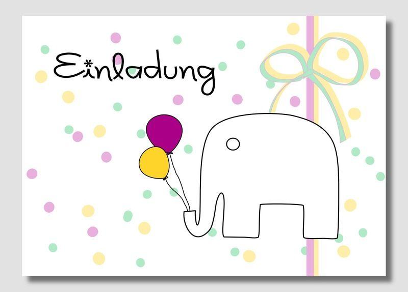 Toll Einladung Kindergeburtstag 5 Karten Von Papierfisch Auf DaWanda.com