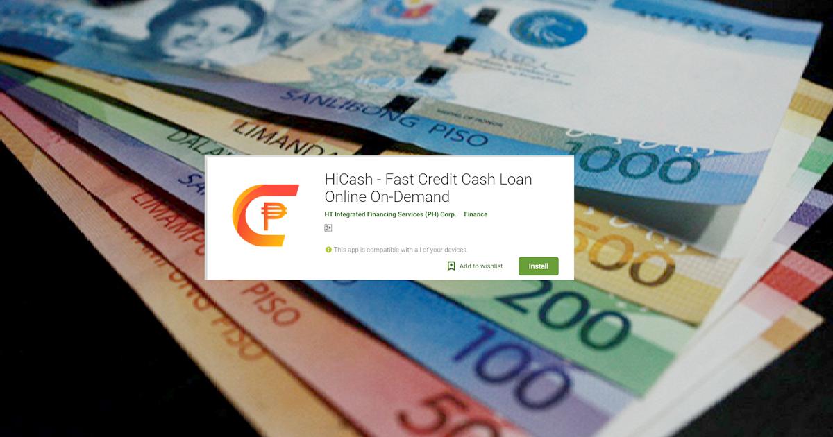 HiCash Online loans, Lending company, Cash loans online