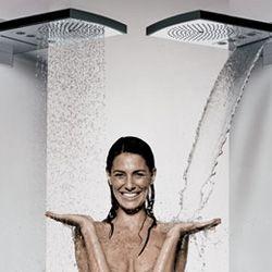 multi way waterfall shower head