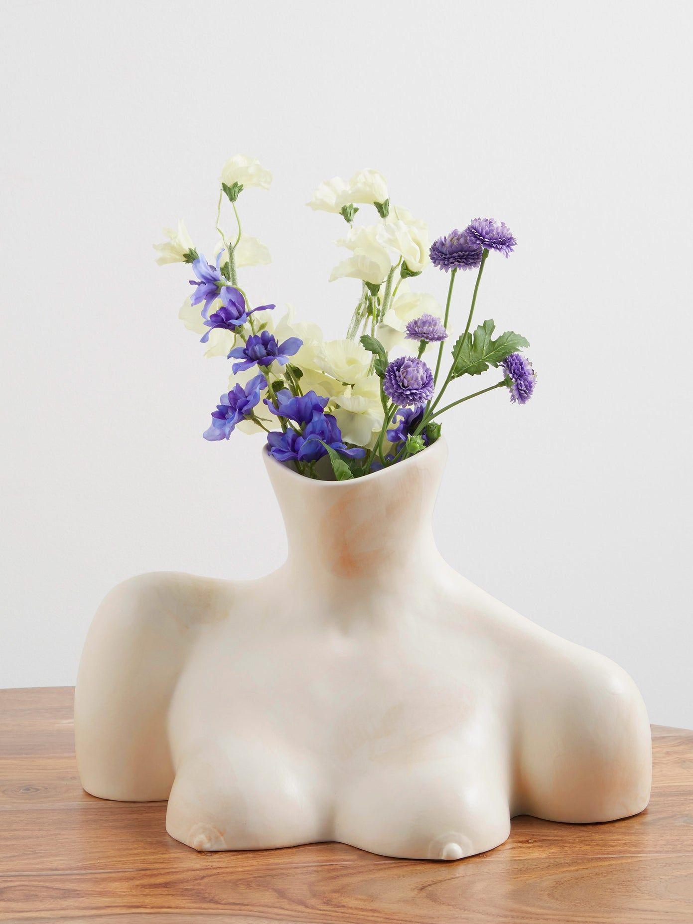 Breast Friend ceramic vase   Anissa Kermiche   MATCHESFASHION