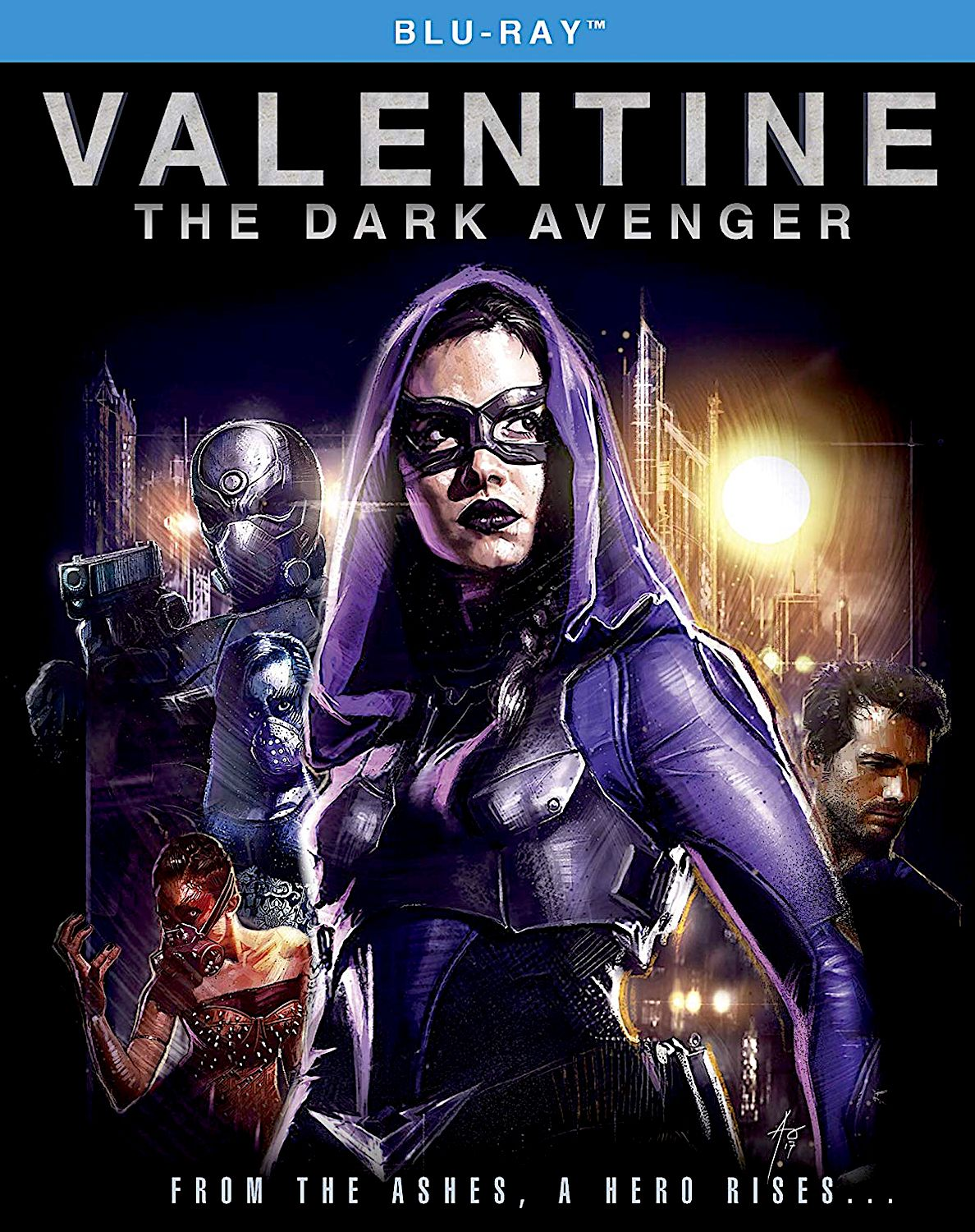 Valentine The Dark Avenger Blu Ray Shout Factory Avengers Movies Avengers Hd Movies