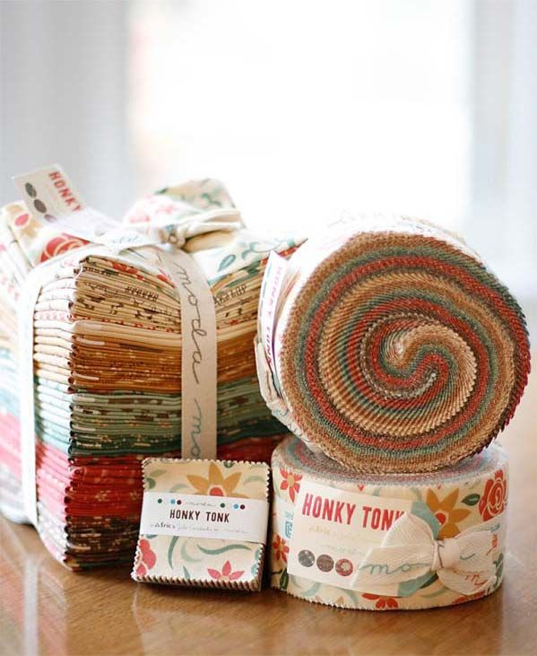 Country folk will love Honky Tonk by Eric & Julie Comstock for Moda Fabrics