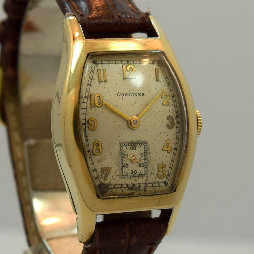 filled watches wrist antique antiques watch gents wittnauer gold atlas