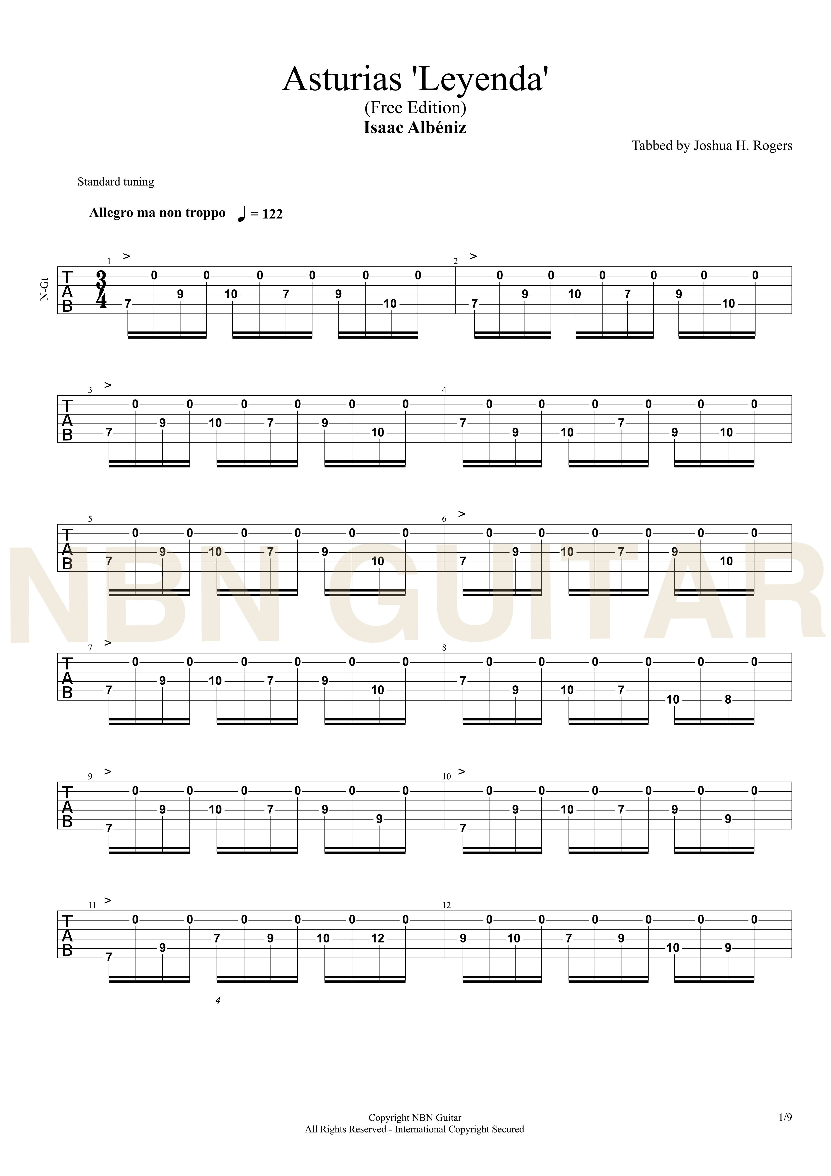 Study in minor carcassi guitar