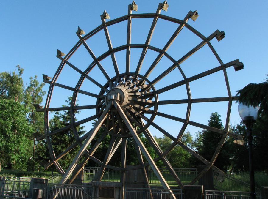 Water Wheel New Hamburg.jpg (900×670)