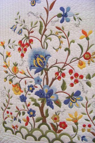 Progress Tree Of Life Applique Quilt Kit Pattern