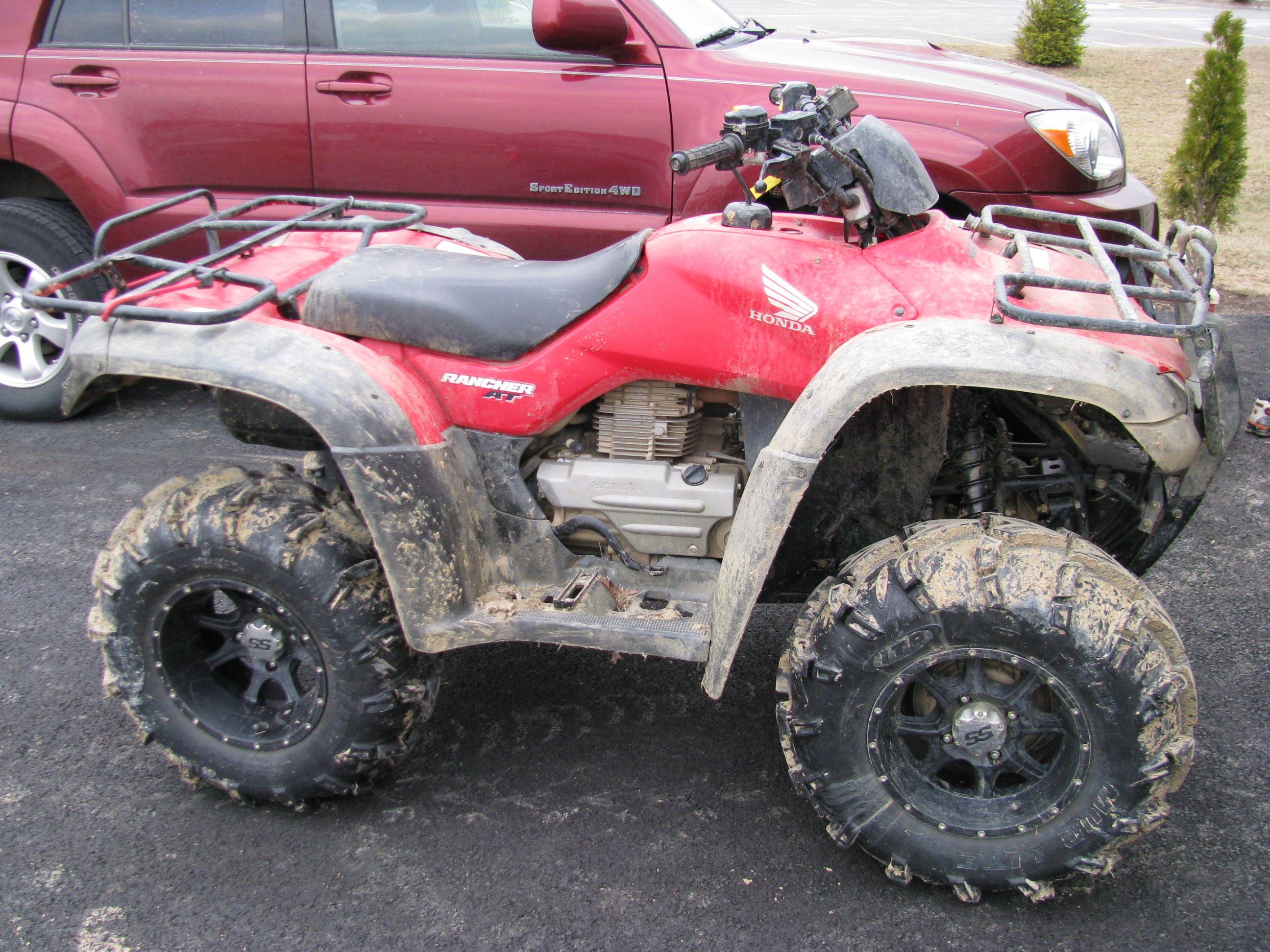 lifted honda rancher | Lifted Rancher 420 | ATV ...