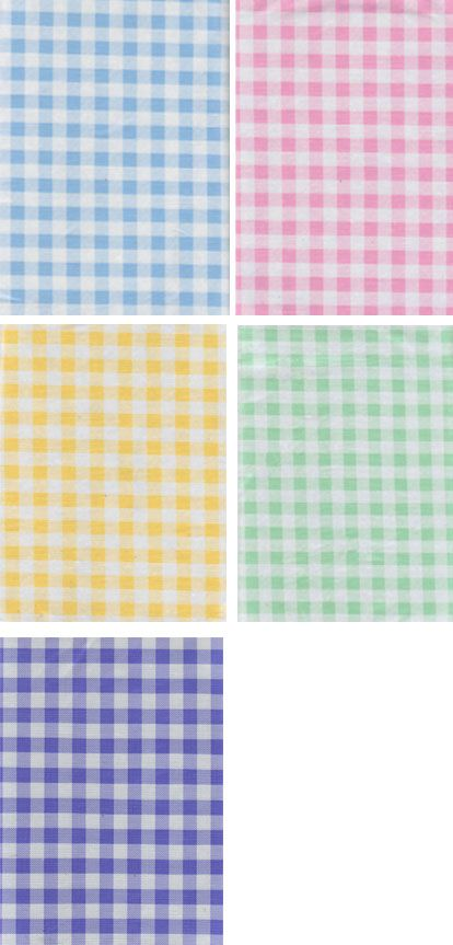 Plastic Checkered Round Table Cloths | Pastel Gingham Check Vinyl Tablecloth  Easter Everyday Assortment .