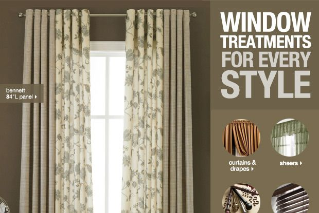 Solid With Pattern On The Ds, Panel Curtain Pattern