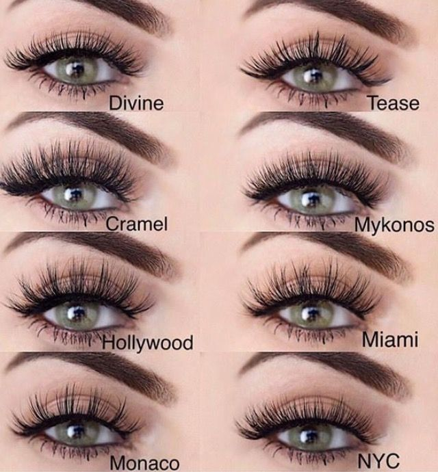 Lilly Lash Collection Hairfashioncosmetics Pinterest