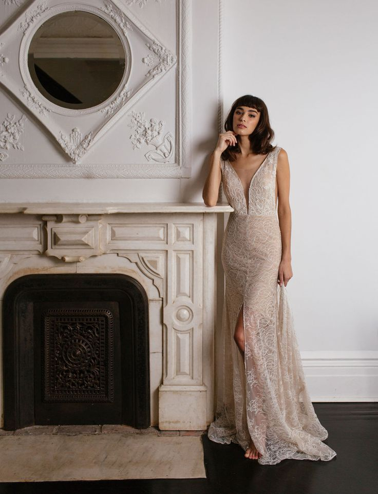 Sarah Seven Romantics Collection - lace wedding dress for the modern and romantic bride