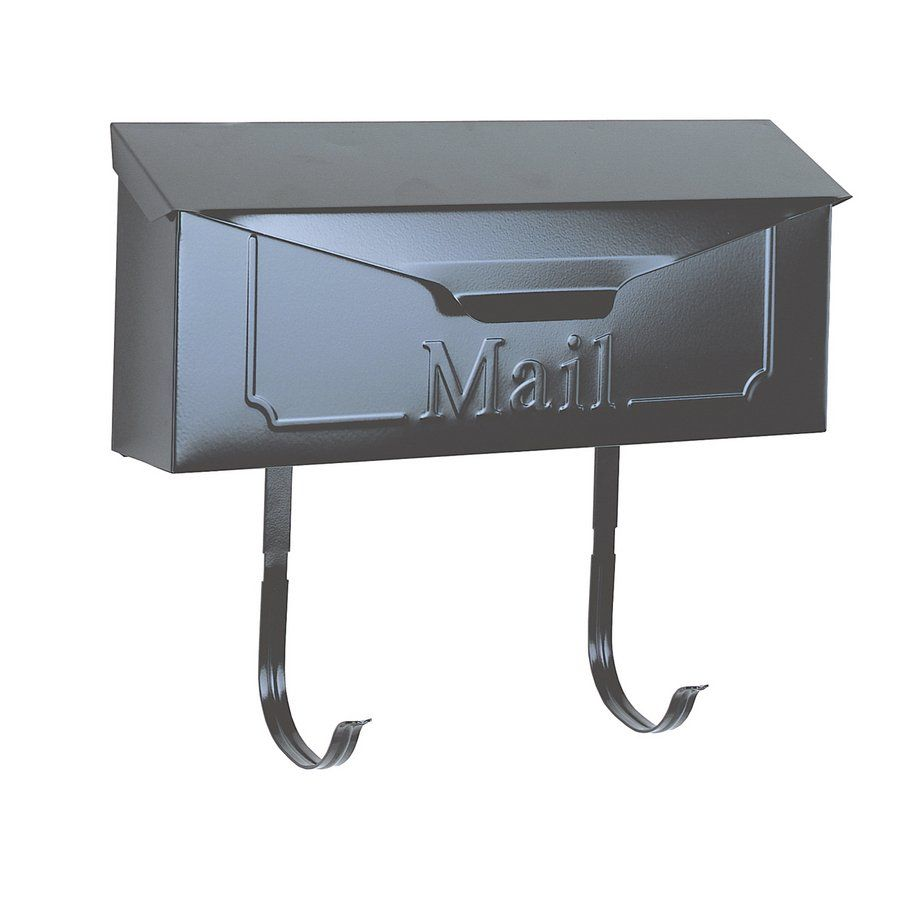 Townhouse Horizontal Wall Mount Steel Mailbox Wall Mount Mailbox Mounted Mailbox Mailbox Horizontal wall mount mailbox