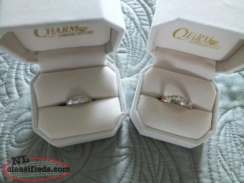 His and Hers wedding bands - Bloomfield, Newfoundland - Rings