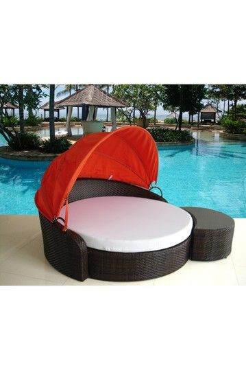 Round Sun Bed Brown My Dream Home, Nordstrom Rack Outdoor Furniture
