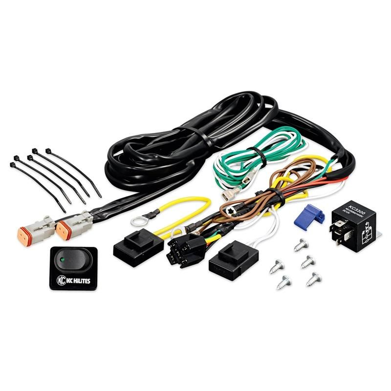 KC Hilites 6315 Relay Wiring Harness Kit allows for quick