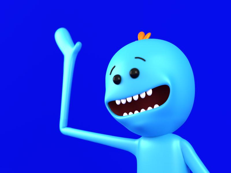Mr Meeseeks Movie Art Animated Movies Mr