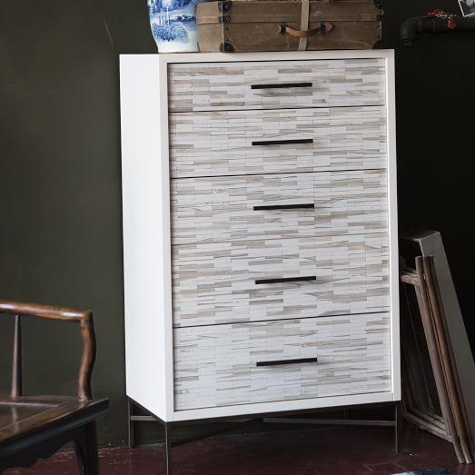 wood tiled dresser $799 Now Trending Home Pinterest Dresser