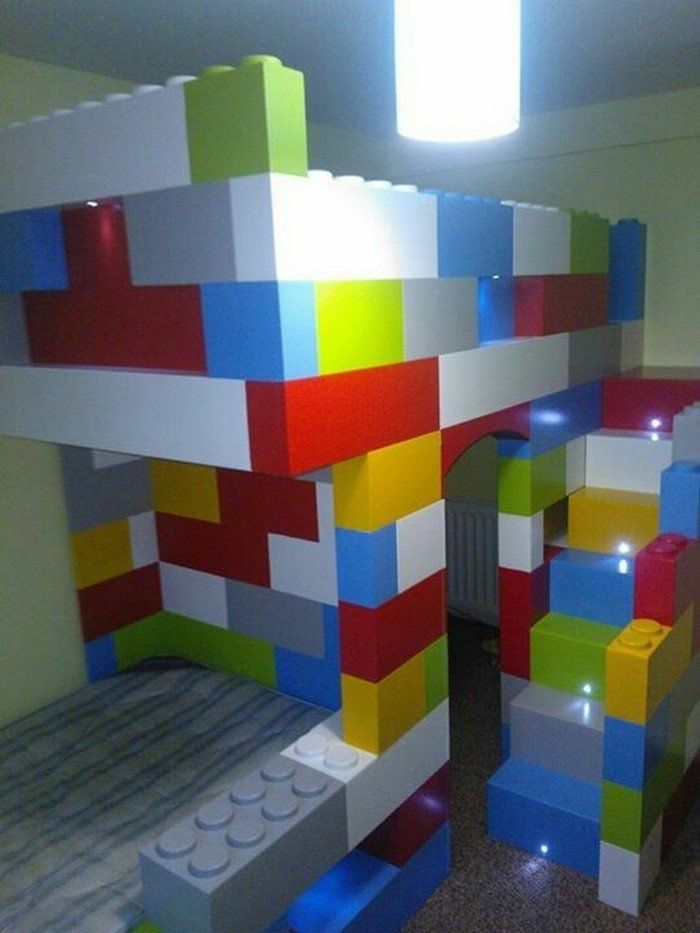 36 Awesome Lego Bedroom Ideas for Kids images