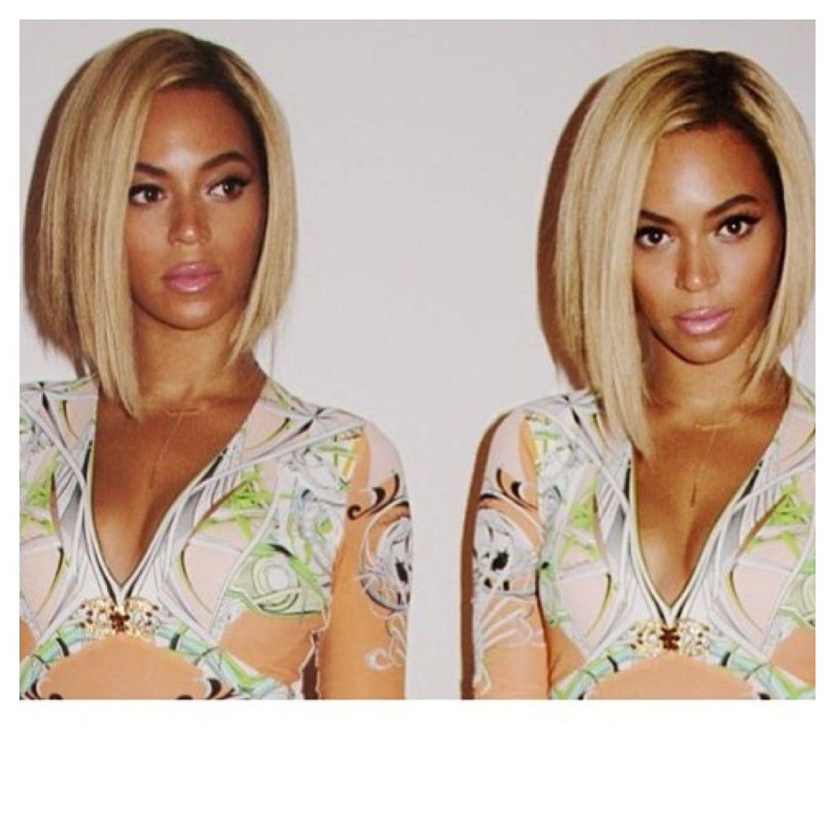 Beyonce's new hair. So cute