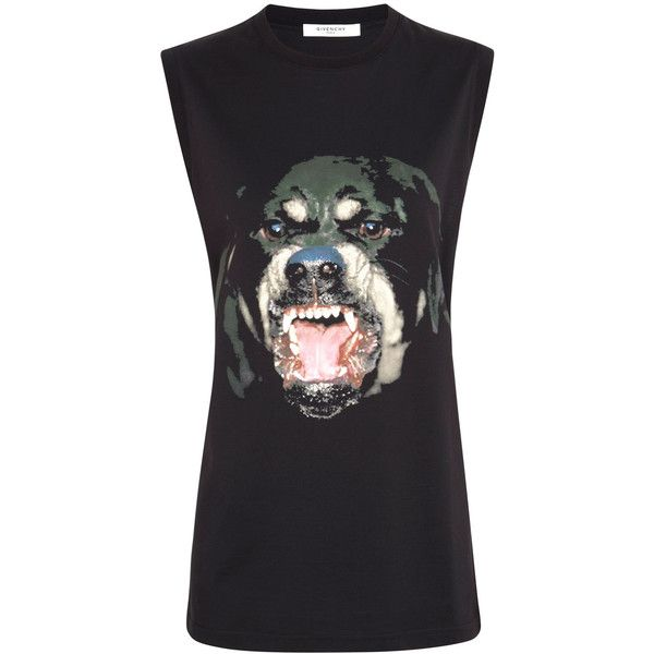 Givenchy rottweiler singlet