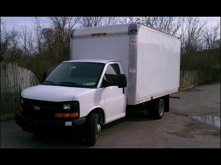 2014 Chevrolet Express G3500 Box Truck Cargo Van Enterprise