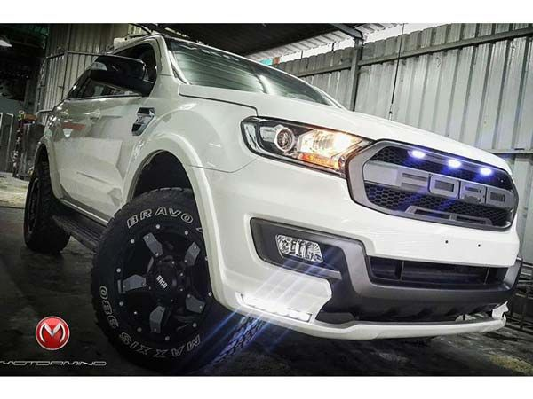 This Customised Ford Endeavour Is A Mean Looking Suv Ford