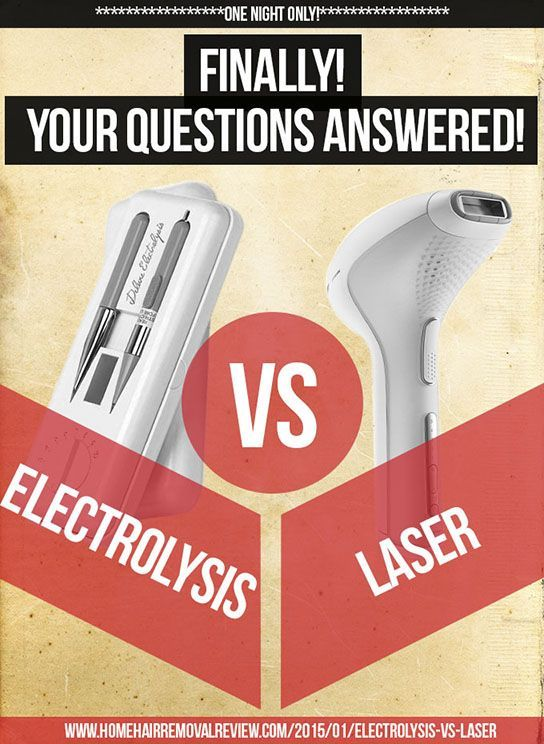 Find out the winner of electrolysis vs laser for hair removal http explore hair removal products and more solutioingenieria Images