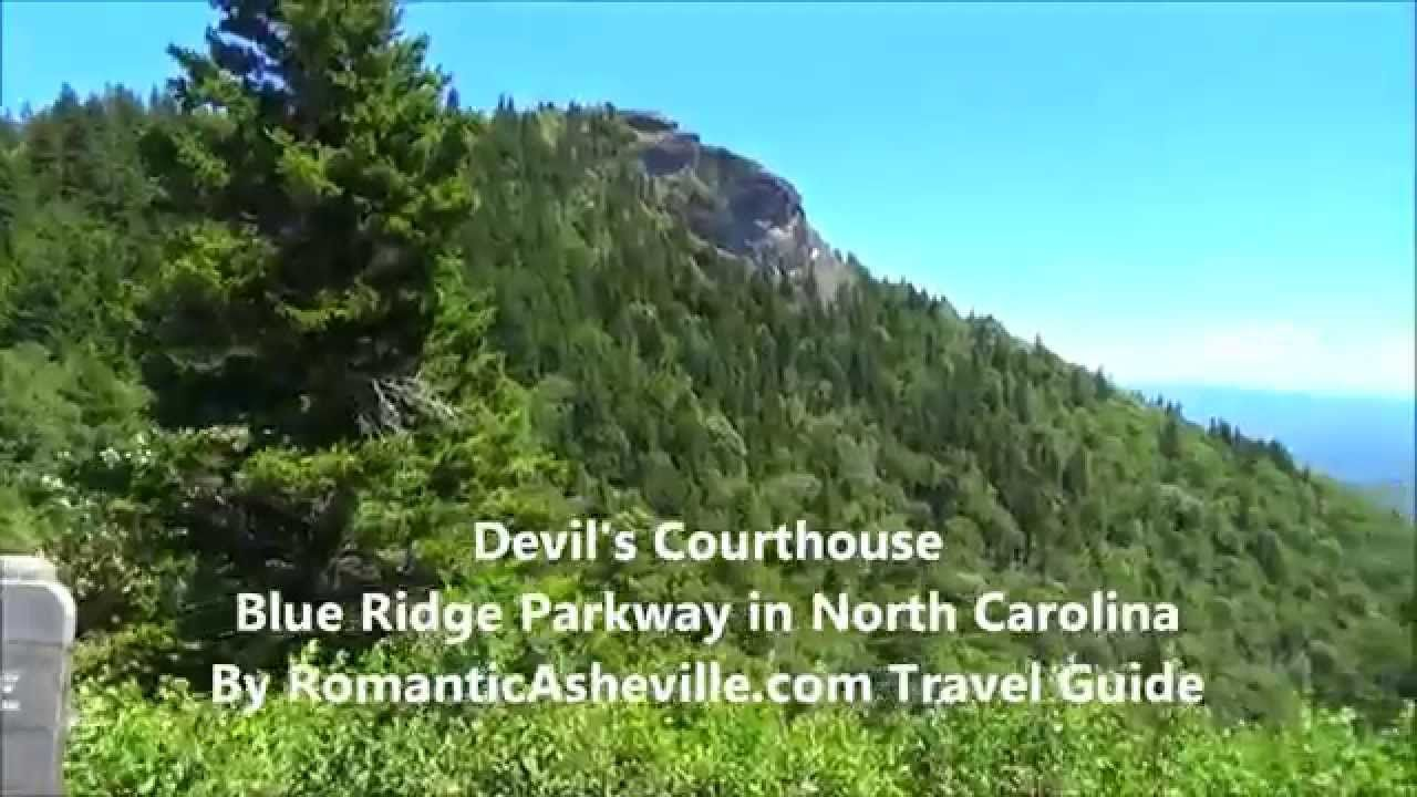 Definitely take a drive on the Parkway to Devils Courthouse, NC then come back home to highrockrentals.com and soak in your hottub under the NC sky.