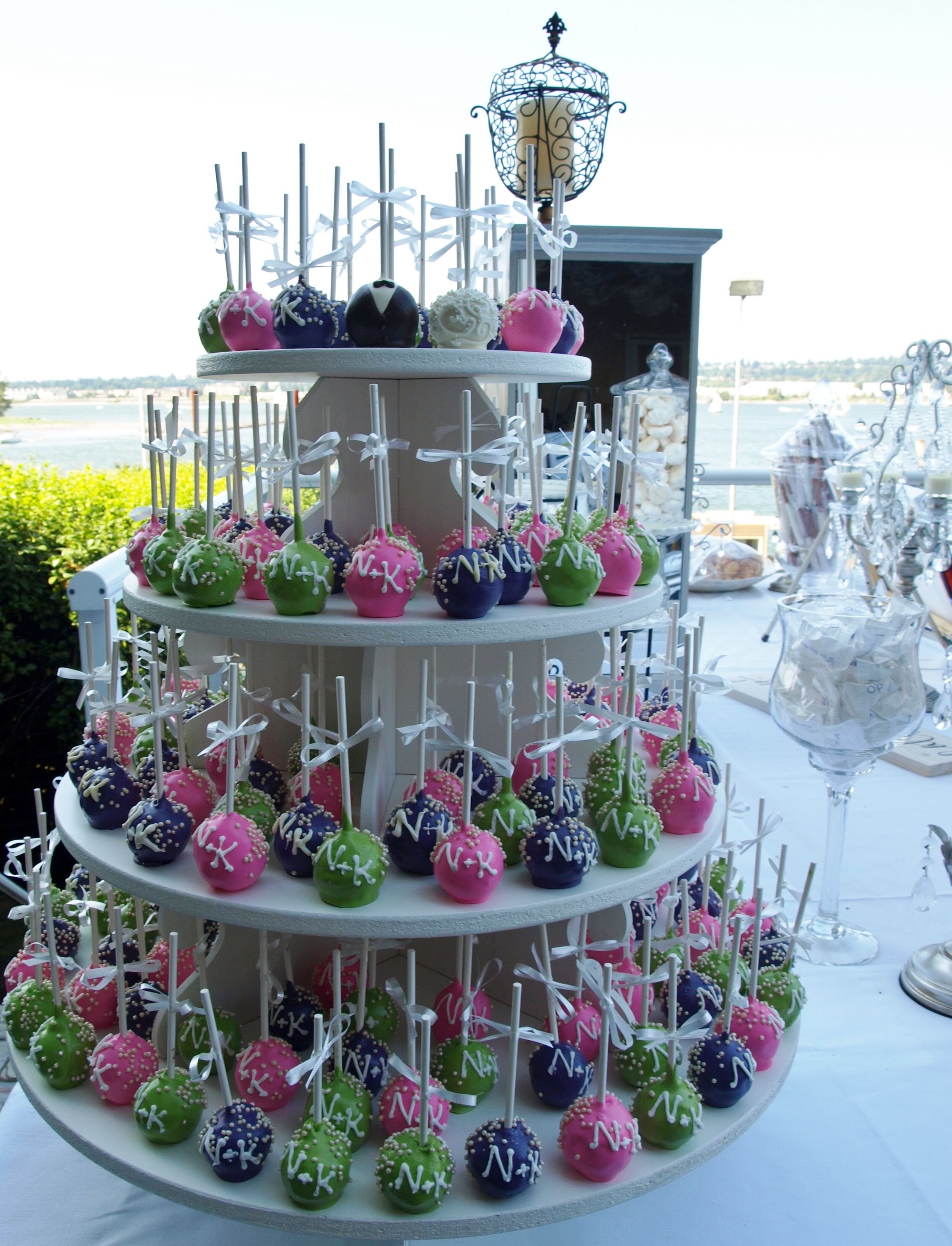 Images Of Cake Cup Pops And Cookie Ideas Wedding Pop Stand Wallpaper