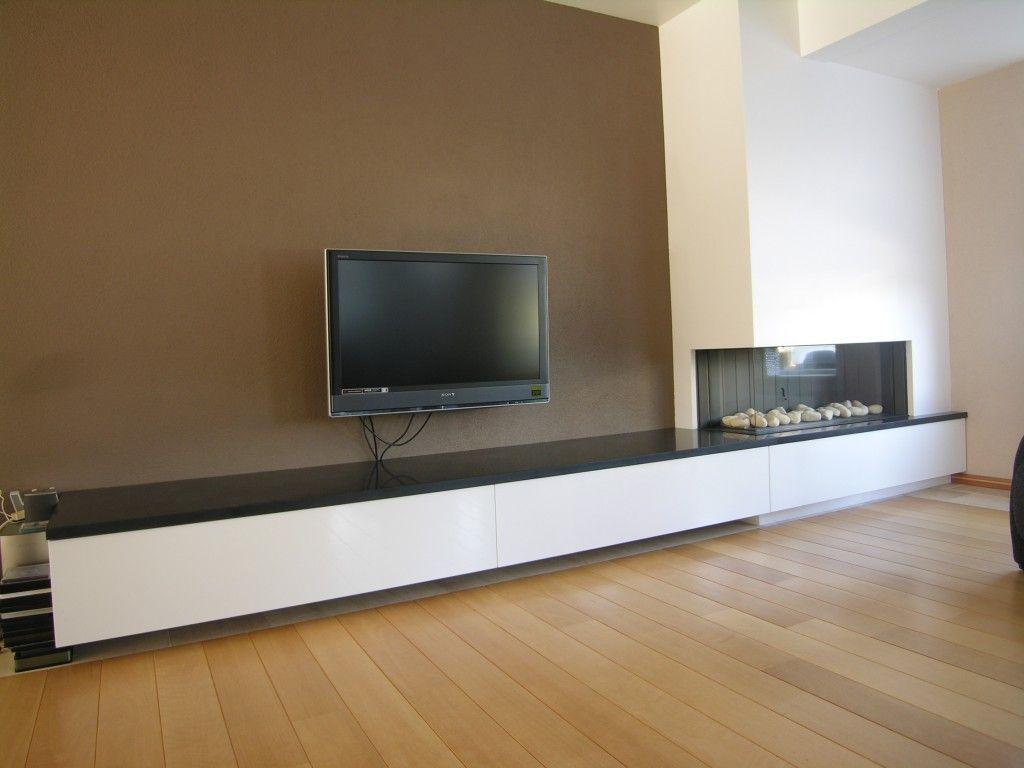 Mdf wandkast maken google zoeken openhaard pinterest for Tv wandkast